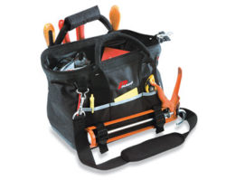 TOOL BAG WITH HANDLE & STRAP