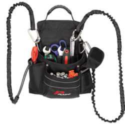 TOOL HOLDER WITH D-RING FOR LANYARD