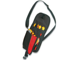 TOOL POCKET WITH ELASTIC BANDS