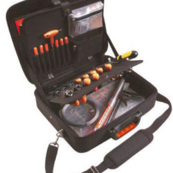 TOOL STORAGE CASE WITH POCKETS