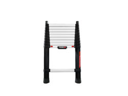 folding telescopic ladder