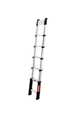 Telescopic a frame ladder